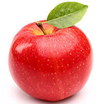 Красное яблоко - калорийность и пищевая ценность